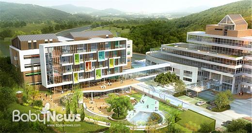 서울시 어린이병원 내에 국내 최대 규모의 발달장애 통합치료센터가 들어선다. 사진은 건립될 센터 조감도. ⓒ서울시