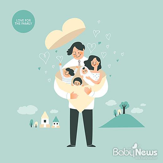 정부는 다자녀가정만을 위한 다양한 혜택을 지원하고 있다. ⓒ베이비뉴스