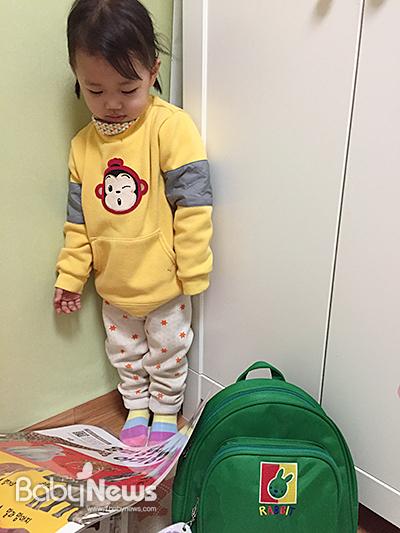 새학기 어린이집 가방을 준비하며. ⓒ김신희