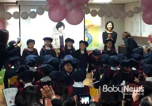 어린이집 졸업식 풍경. 소장섭 기자 ⓒ베이비뉴스