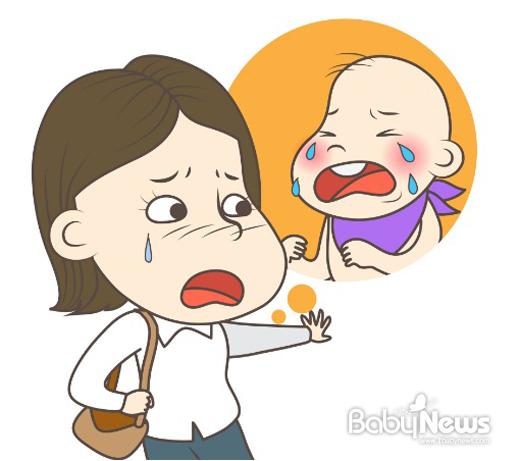 일반적인 우울증은 처지는 경우가 많은 반면, 산후우울증은 감정기복이 심하고 펑펑 울게 되는 경우가 많다. ⓒ 베이비뉴스