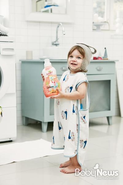 비트루트 유기농 유아세제는 유기농 화장품에서 제시하는 화장품 성분 등급인 EWG에서 전 성분 'All GREEN 0등급'의 성분만을 사용했다. ⓒ바베파파