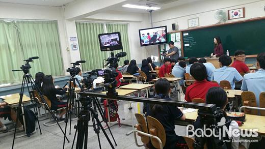 '나PD, 2박 3일 초등학생 방송미디어 캠프'는 영상을 직접 제작하고 편집하는 장을 마련했다. ⓒ 아자스쿨