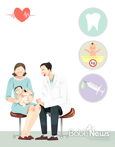 정부는 신생아를 비롯한 영유아 질병 예방을 위한 건강 지원 정책을 시행하고 있다. ⓒ베이비뉴스